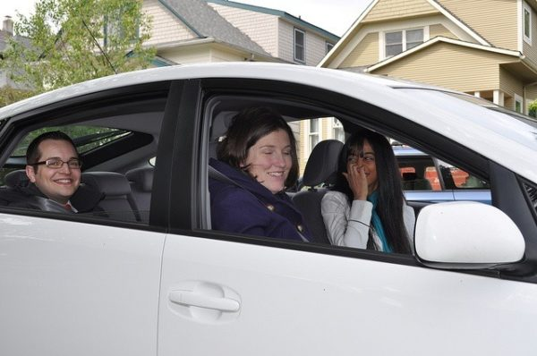 Carpooling reduces your eco-footprint and saves money.