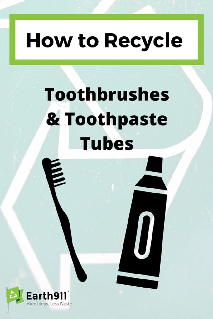 Trying to recycle toothbrushes or toothpaste tubes? Check out this super helpful guide from Earth911.