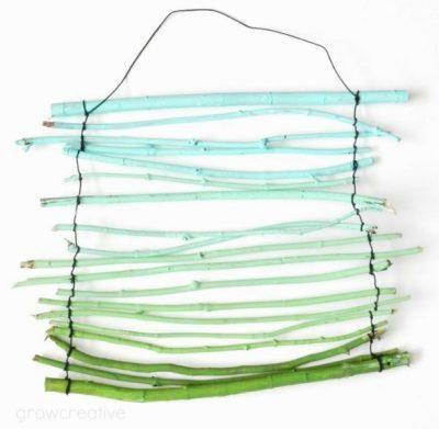 Twig hanging