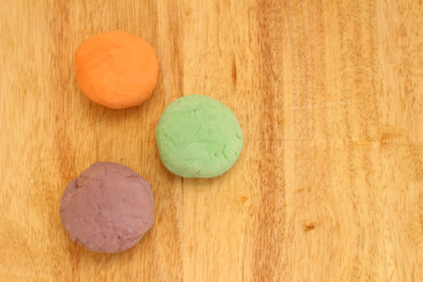 DIY aromatherapy playdough