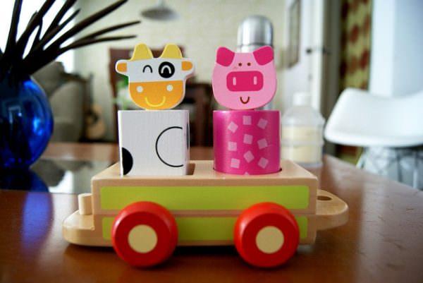 Wood kids toys