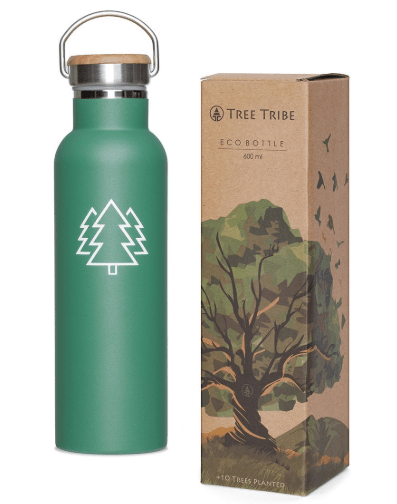 green Tree Tribe stainless steel bottle