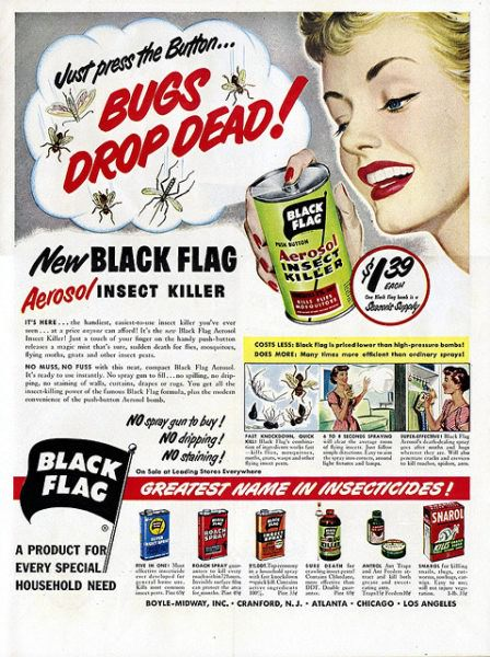 1950 Black Flag Bug Killer