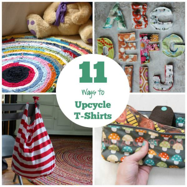 11 Ways to Upcycle T-Shirts