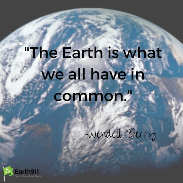 Lovely quote about the world for Earth Day