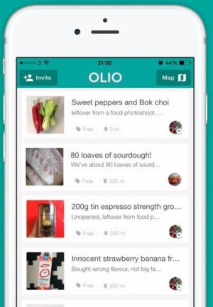 OLIO: Reduce food waste app