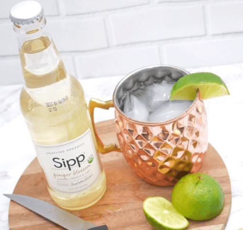 Ginger Sipp Pineapple Moscow Mule cocktail