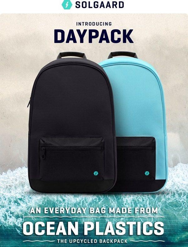 Ocean Plastics Daypack by Solgaard