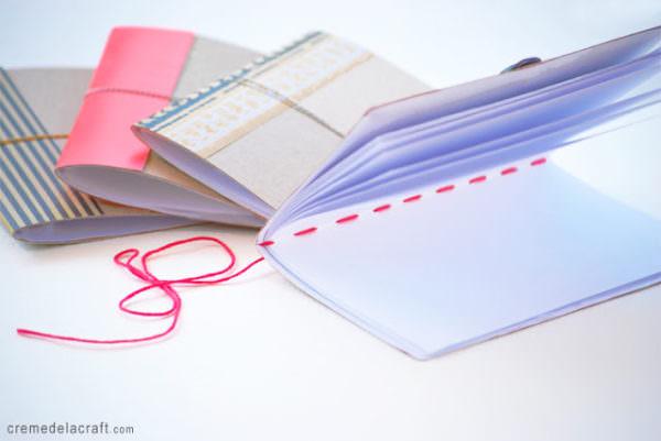 DIY mini-notebook