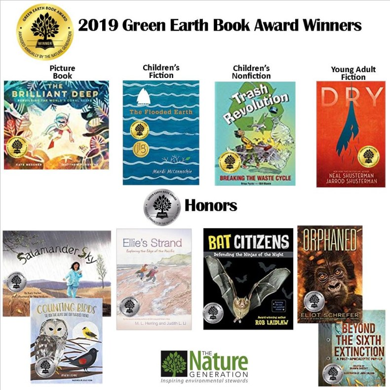 winners of 2019 Green Book Awards