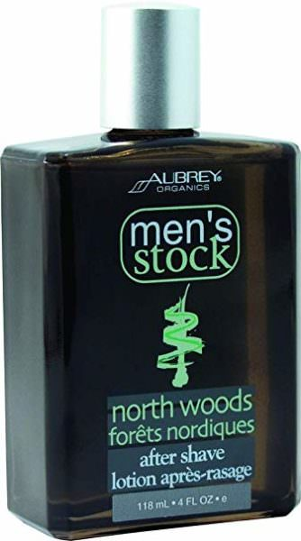 Men's Stock North Woods after shave lotion by Aubrey Organics
