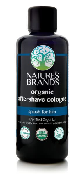 Organic Aftershave, Cologne Splash by Herbal Choice Mari of Nature's Brands
