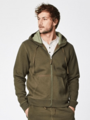 My Bamboo's men's bamboo zip hoody