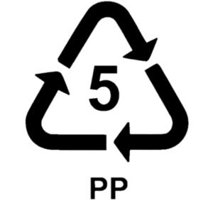 Number 5 plastic resin code