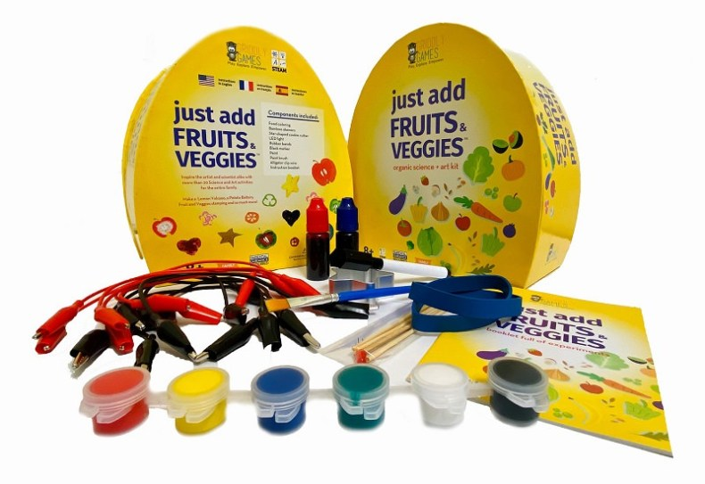 Just Add Fruits & Veggies toy