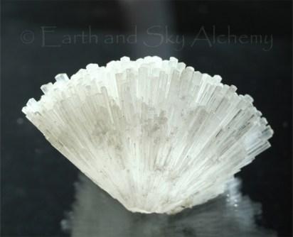 Natrolite crystal cluster