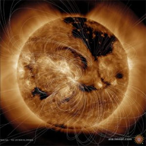 Sun magnetic fields