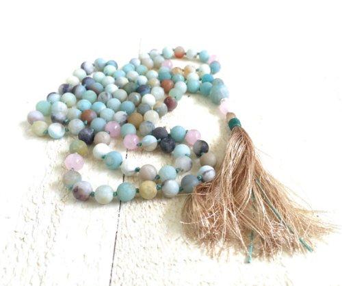 amazonite-mala-beads