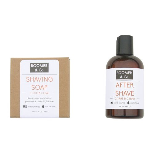 shaving soap and after shave
