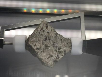 Moon rock! An Apollo 15 basalt (15555)
