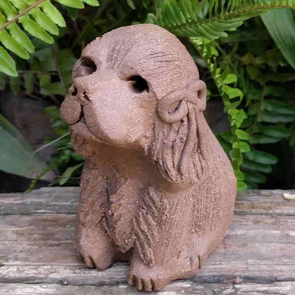 small-cocker-spaniel-clay-sculpture-garden_1024p5_xx