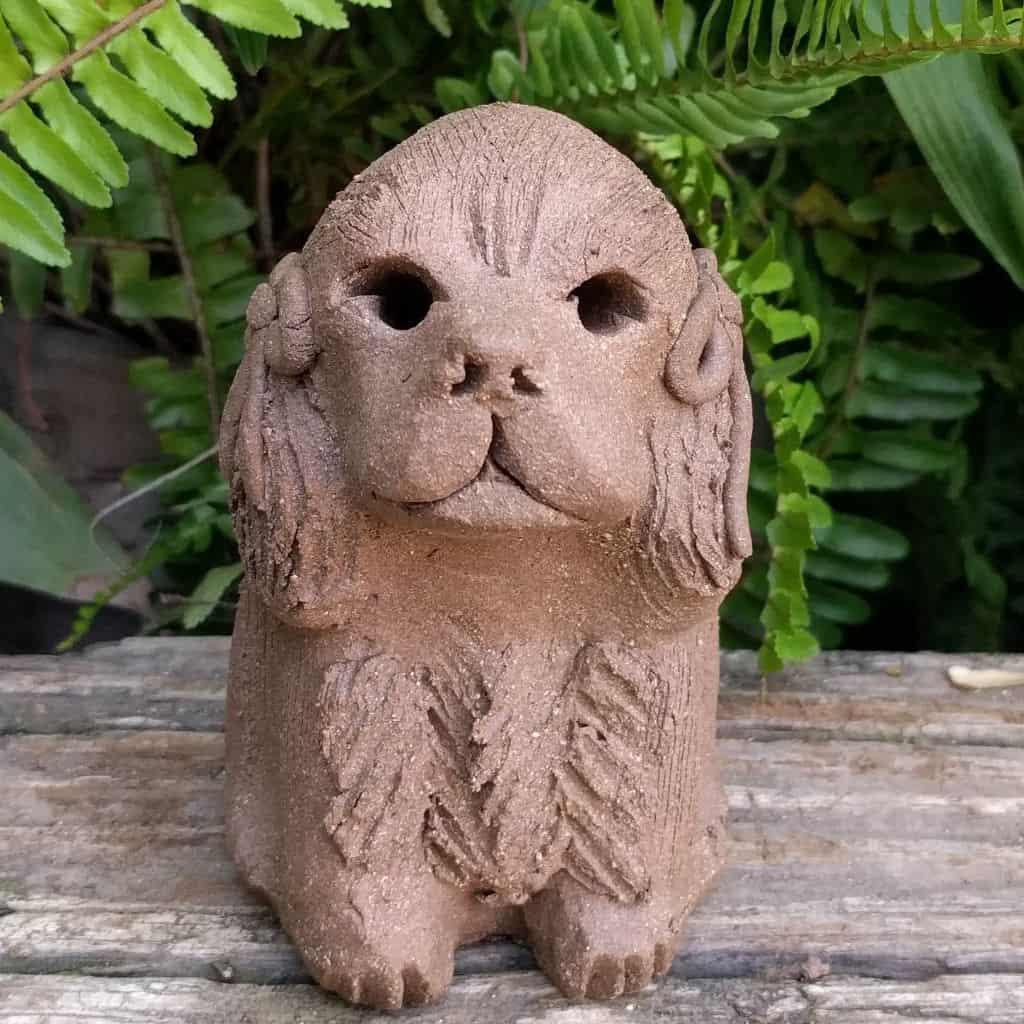 small-cocker-spaniel-clay-sculpture-garden_1024p7_xx