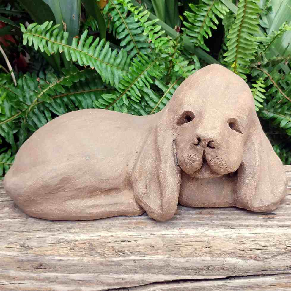 clay-basset-hound-outdoor-figurine-by-margaret-hudson-earth-arts-studio-0