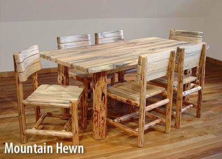 diy rustic ranch log furniture wooden