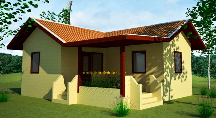 farm house plan   Earthbag House Plans Farm Guesthouse  click to enlarge