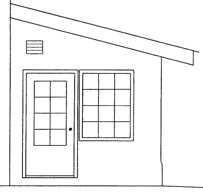 Attached greenhouse w vertical glazing earthbag house plans for House plans with greenhouse attached