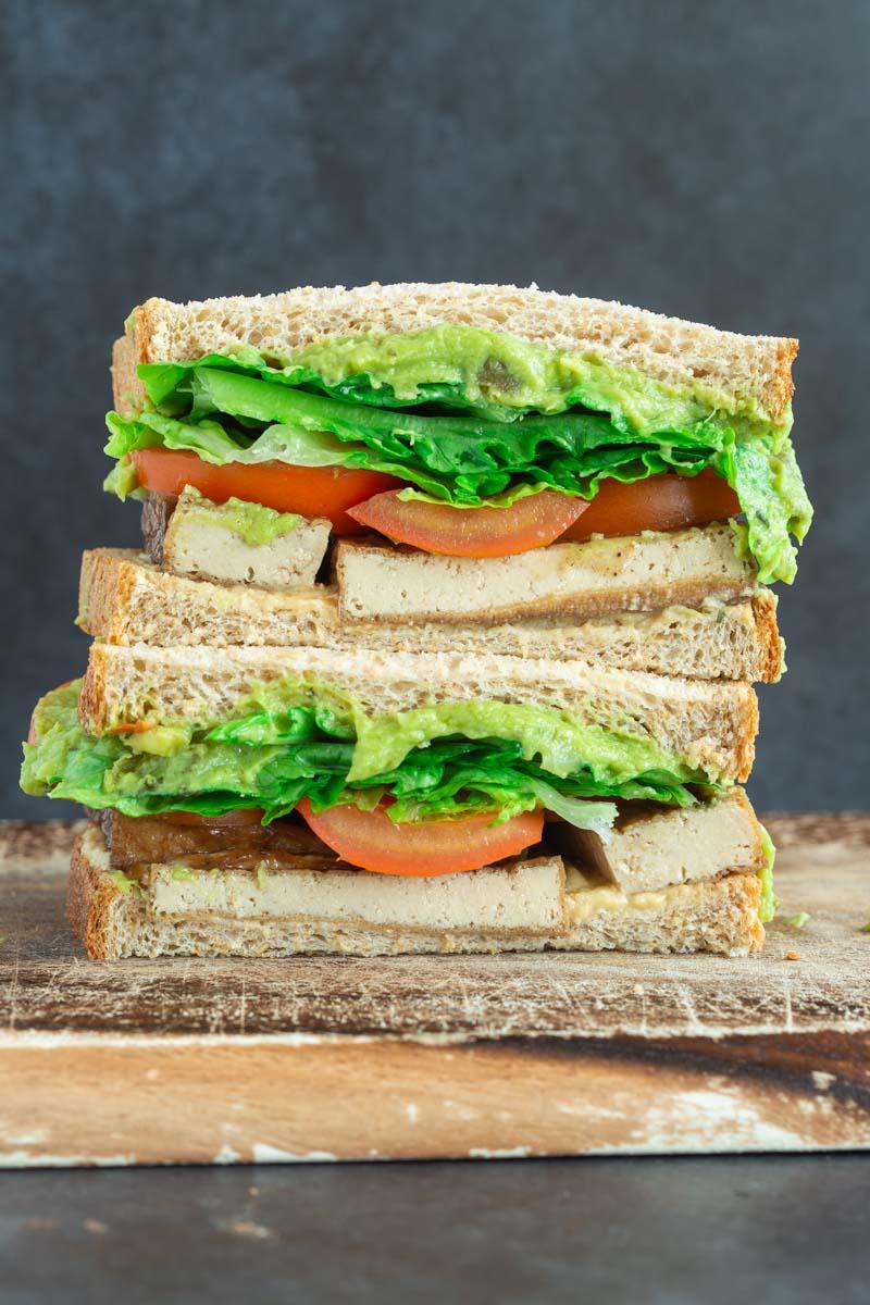 tofu avocado sandwich