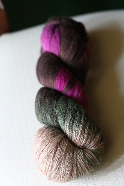 Lorna\'s Laces, Helen\'s Lace, 1 skein, 1750 yards, in Vera