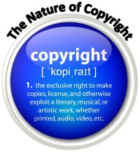 The legal fiction of Copyright, or for physical monopolies patent, is an extension of the fraud of ownership, being the control and monopoly of intellectual 'property', used to extort usurious revenue (taxation/profit) upon the application or copying of the idea or design of the copyright holder, further imposing regulations upon another who uses the copyrighted goods, services or ideas, so dictating what someone can or cannot do with their own real resource to possess and use that resource.