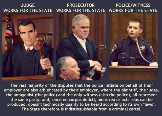JUDGE WORKS FOR THE STATE