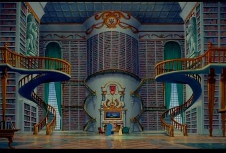 beautyandthebeast_library