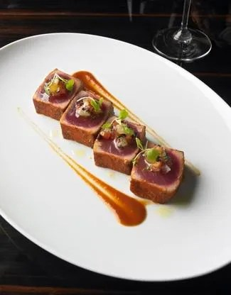 not the actual ahi tuna dish