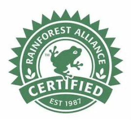 Do One Green Thing: rainforesr certified