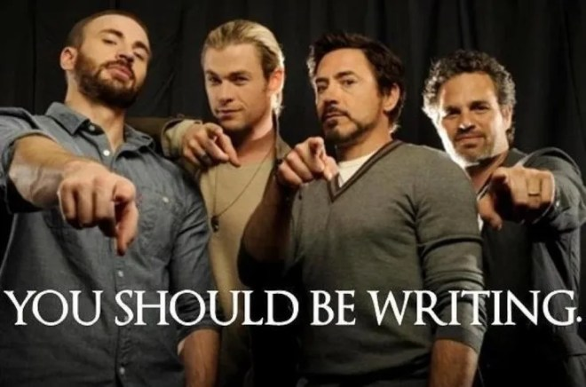 Yes, Thor, I mean, Avengers. Anything you say, Thor, I mean, Avengers...