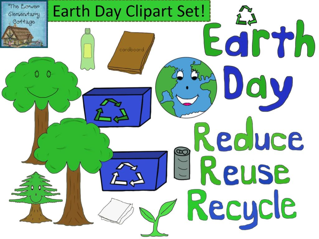 64 Best Earth Day Clipart Black Amp White And Colors