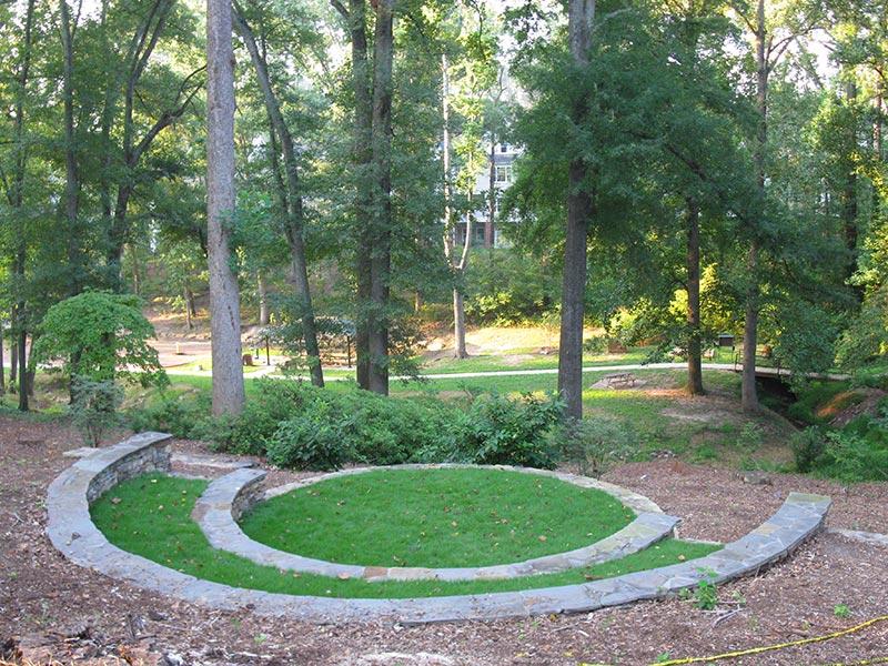 earth-design-landscape-architecture-pickens-sc-rotary-park- - Rotary Park Memorial Garden Earth Design Landscape Architecture