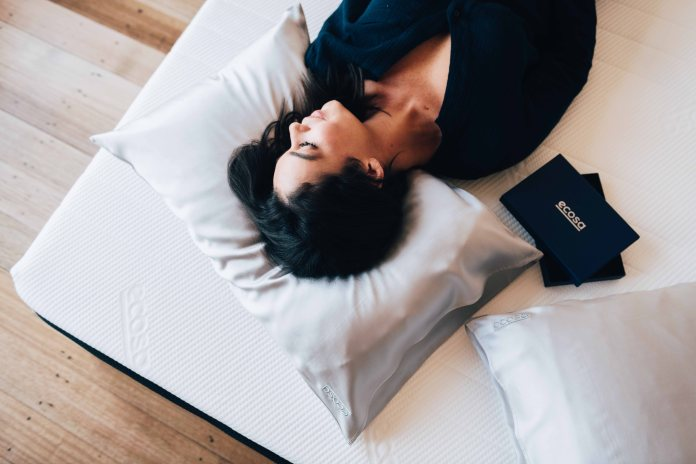 The zen comfort of Ecosa bedding is a perfect example of sustainable luxury.