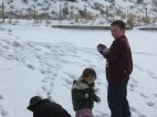 2013.23.3 - I'm thankful they got to enjoy the snow <3Evanston, Wyoming