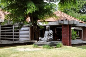 The National Museum made from Gandhi's 1st Community, Sabarmati Ashram, in Ahmedabad. Gujarat, India Photo by Harthik Jadeja