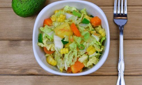 Crunchy Chinese Leaf Salad by Chrissy Faery