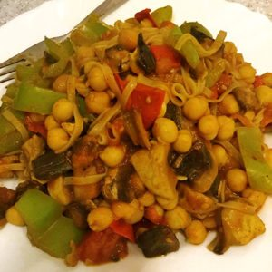 Vegan Curry Noodles