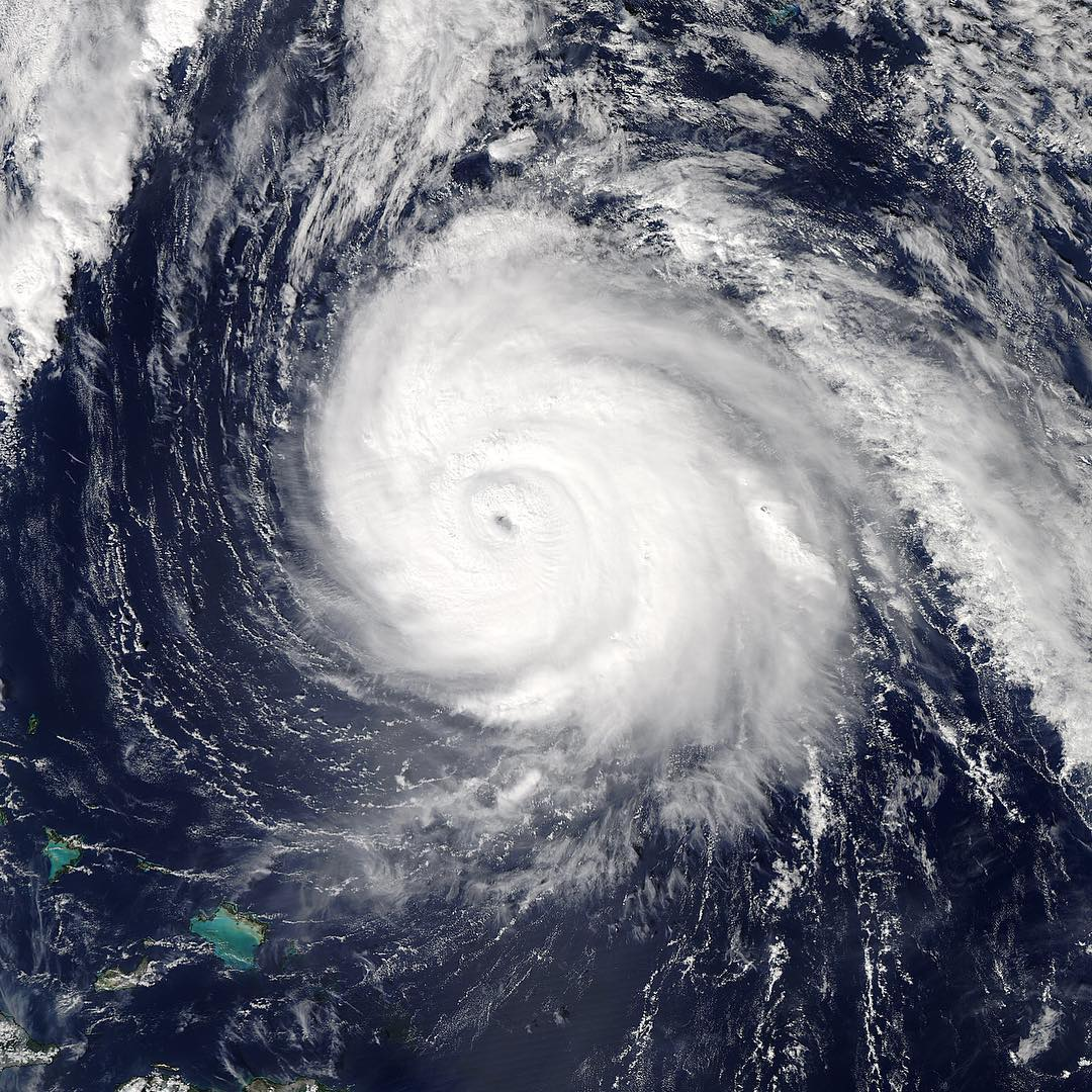 Satellite image of Hurricane Gonzalo 2016