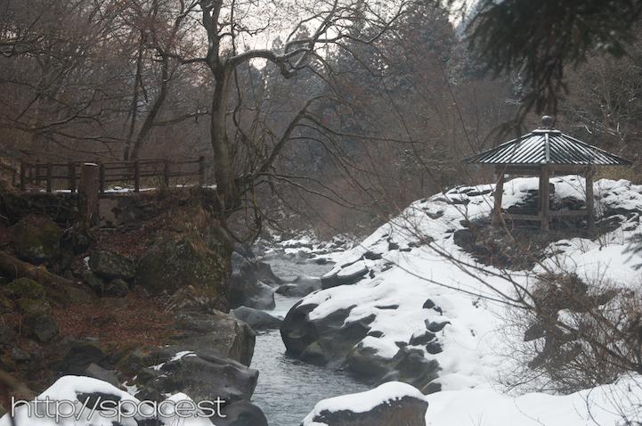 Bake Jizo, Divine Tower and Kanmangafuchi Abyss Kanman Path