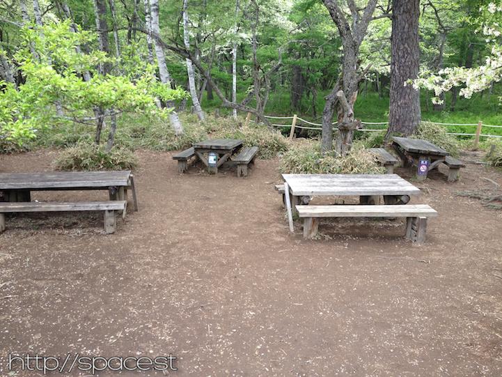 picnic tables Senjogahara