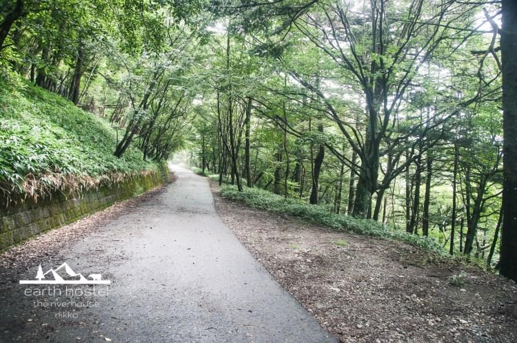hiking nantai mountain-4