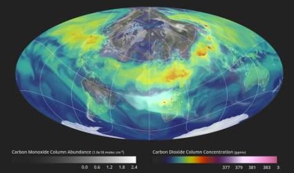 Carbon Dioxide Distribution